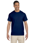 Navy Premium Ultra Cotton Pocket T as seen from the front