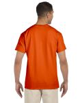 Orange Premium Ultra Cotton Pocket T as seen from the back