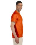Orange Premium Ultra Cotton Pocket T as seen from the sleeveleft