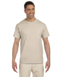 Sand Premium Ultra Cotton Pocket T as seen from the front