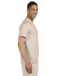Sand Premium Ultra Cotton Pocket T as seen from the sleeveleft