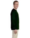 Forest Green 6.1 oz. Ultra Cotton® Long-Sleeve T-Shirt as seen from the sleeveleft