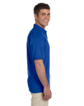 Royal Ultra Cotton® 6 oz. Jersey Polo as seen from the sleeveleft
