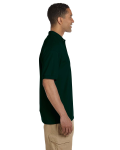 Forest Green 6.5 oz. Ultra Cotton® Piqué Polo as seen from the sleeveleft