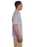 Sport Grey 6.5 oz. Ultra Cotton® Piqué Polo as seen from the sleeveleft