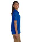Royal Ladies' 6.5 oz. Ultra Cotton® Piqué Polo as seen from the sleeveleft