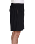 Black Performance™ 5.5 oz. Nine Inch Short with Pockets as seen from the sleeveleft