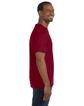 Antique Cherry Red Classic Cotton T as seen from the sleeveleft