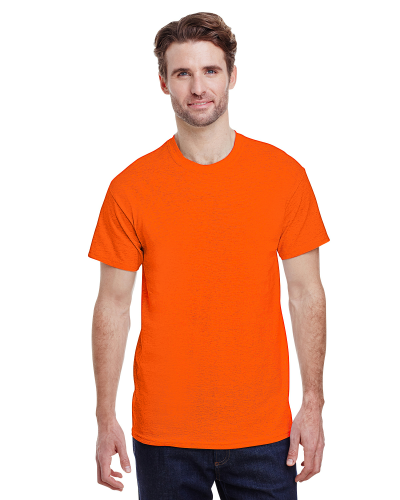 Antique Orange Classic Cotton T as seen from the front