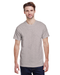 Ash Grey Classic Cotton T as seen from the front