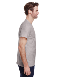 Ash Grey Classic Cotton T as seen from the sleeveleft