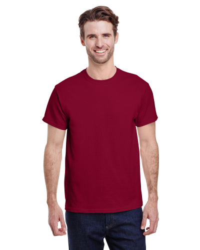 Cardinal Red Classic Cotton T as seen from the front