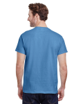 Carolina Blue Classic Cotton T as seen from the back