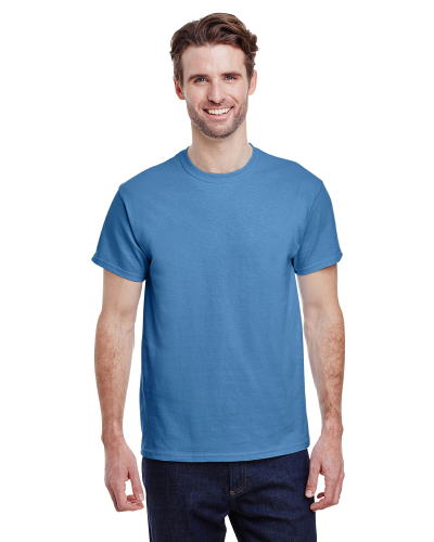 Carolina Blue Classic Cotton T as seen from the front