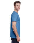 Carolina Blue Classic Cotton T as seen from the sleeveleft