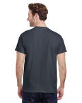 Charcoal Classic Cotton T as seen from the back