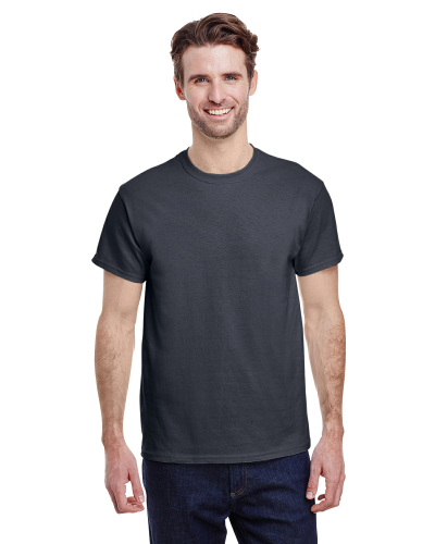 Charcoal Classic Cotton T as seen from the front