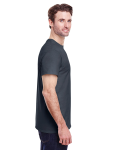 Charcoal Classic Cotton T as seen from the sleeveleft