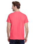 Coral Silk Classic Cotton T as seen from the back