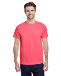 Coral Silk Classic Cotton T as seen from the front