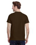 Dark Chocolate Classic Cotton T as seen from the back