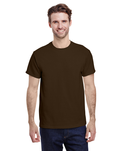 Dark Chocolate Classic Cotton T as seen from the front