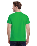 Electric Green Classic Cotton T as seen from the back