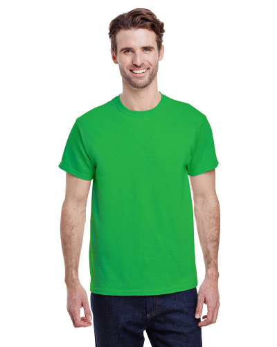Electric Green Classic Cotton T as seen from the front