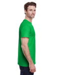 Electric Green Classic Cotton T as seen from the sleeveleft