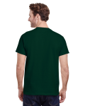 Forest Green Classic Cotton T as seen from the back