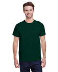 Forest Green Classic Cotton T as seen from the front