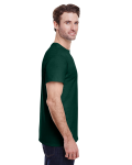 Forest Green Classic Cotton T as seen from the sleeveleft