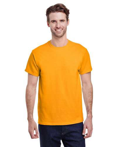 Gold Classic Cotton T as seen from the front