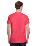 Heather Red Classic Cotton T as seen from the back