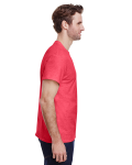 Heather Red Classic Cotton T as seen from the sleeveleft