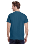 Indigo Blue Classic Cotton T as seen from the back