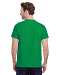 Irish Green Classic Cotton T as seen from the back