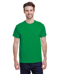 Irish Green Classic Cotton T as seen from the front
