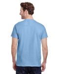 Light Blue Classic Cotton T as seen from the back