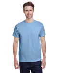 Light Blue Classic Cotton T as seen from the front