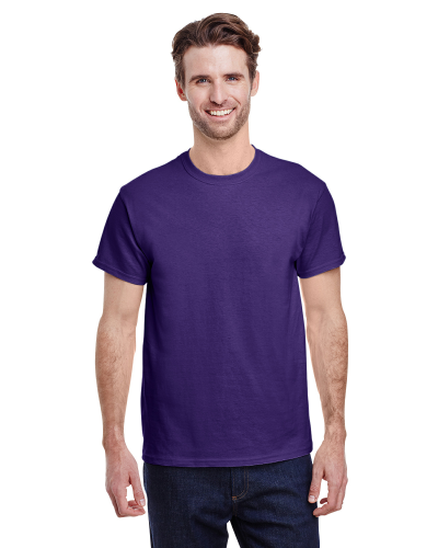Lilac Classic Cotton T as seen from the front