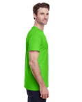 Lime Classic Cotton T as seen from the sleeveleft