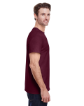 Maroon Classic Cotton T as seen from the sleeveleft