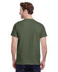 Military Green Classic Cotton T as seen from the back