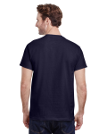 Navy Classic Cotton T as seen from the back