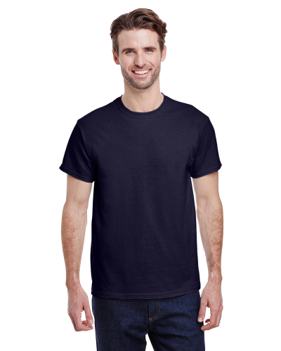 Navy Classic Cotton T as seen from the front