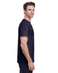 Navy Classic Cotton T as seen from the sleeveleft