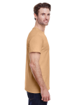 Old Gold Classic Cotton T as seen from the sleeveleft