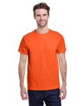 Orange Classic Cotton T as seen from the front