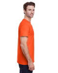 Orange Classic Cotton T as seen from the sleeveleft